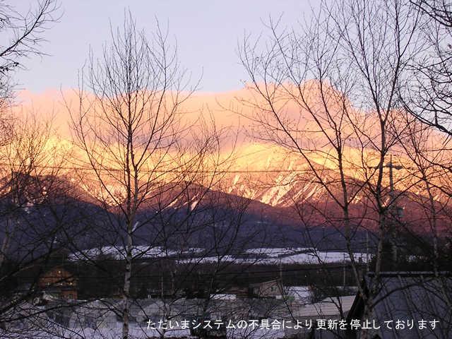 今日の八ヶ岳(野辺山より)